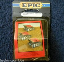 1991 Epic Imperial Guard Manticore Multi Launcher Type 2 Citadel 6mm Army MIB GW