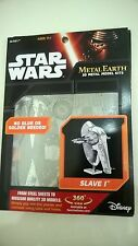 Star Wars Metal Earth Slave 1