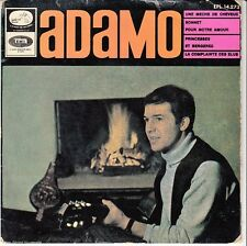 45 T EP SALVATORE ADAMO *UNE MECHE DE CHEVEUX* (MADE IN SPAIN)
