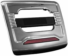 Kuryakyn 3134 License Plate Trim Panel With Run-Brake Accent Light 01-10 GL1800