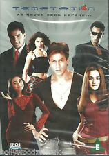 TEMPTATION AS NEVER SEEN BEFORE - NEW ORIGINAL BOLLYWOOD DVD - FREE UK POST