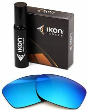 Polarized IKON Iridium Replacement Lenses For Oakley Jupiter Squared LX Ice Blue