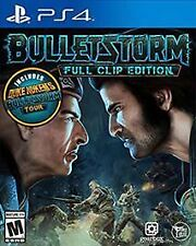 PS4 Bulletstorm Full Clip Edition NEW Sealed REGION FREE USA Game Bullet Storm