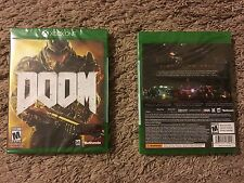 DOOM for Xbox One Brand New Factory Sealed with Demon Multiplayer Pack Fast Ship