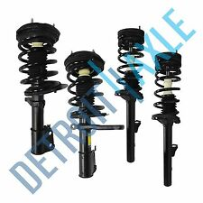 Set (4) NEW Both Front & Rear Complete Strut W/ Spring & Mounts Quick Assembly