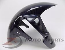 2006-2010 GSXR600 GSXR750 Front Tire Fender Wheel Fairing Cowl Carbon Fiber Blue