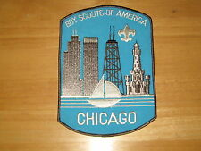 Chicago Council 6 sided jacket patch   cjp