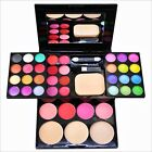 Fashion Makeup Kit Set Eye Shadow Palette Cosmetics Compartment Lip Blusher New