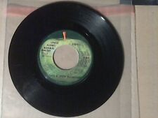 45RPM Record. Paul & Linda McCartney. 1971 Apple Records 1837.
