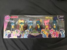 NEW My Little Pony Wonderbolts 6 Figure Set Pack Exclusive Christmas Gift Ponies