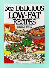 365 Ways: 365 Delicious Low-Fat Recipes by Phyllis Kohn (1995, Hardcover)