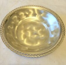 WMF IKORA Silverplate Toned Art Deco Silver Metal Serving Tray Germany  Boxed