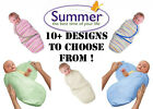 Summer Infant Swaddle Me Small All Colours Baby Swaddling Wrap 0-4 Months