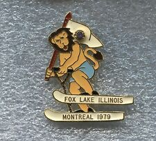 Lions Club International  Fox Lake Illinois, Montreal 1979 Pin