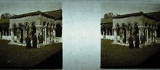 Photographie cloitre de la Basilique San Zeno de Vérone Verona Italie, 1933