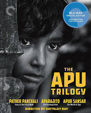 The Apu Trilogy Criterion Collection Blu-ray Disc Set Sealed