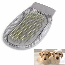 Pet Dog Cat Grooming Glove Brush Shedding Bathing Sponge Trimmer Groomer
