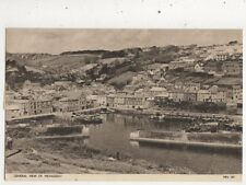 General View Of Mevagissey Cornwall 1960 Postcard 925a