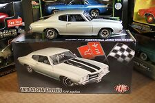 1/18 ACME GMP 1970 Chevrolet Chevelle SS 396 Cortez Silver 1of786 Extremely Rare