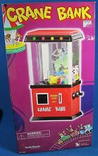 NEW RadioShack The Claw Crane Bank Arcade Fun for Home Lights Sound Game Room