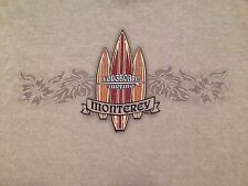 VINTAGE MONTEREY LONG BOARD SURFING T SHIRT MEDIUM