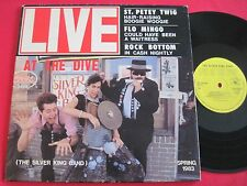 RARE PRIVATE BLUES LP - SILVER KING BAND - LIVE AT THE DIVE - EDDIE KIRKLAND VG+