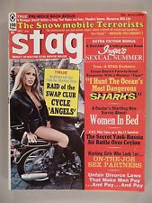"""Stag Magazine - December, 1971 -- """"Cycle Angels"""" -- Hell's Angels biker gang"""