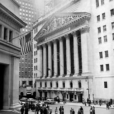 Bull Market Vintage Photography New York Stock Exchange Wall Print Poster 28x26