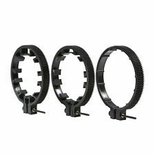 Movo FR3 3-Piece Follow Focus Ring Gear Set (Includes 65mm/75mm/85mm Lens Rings)