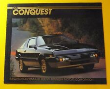 1984 PLYMOUTH CONQUEST SHOWROOM SALE BROCHURE ..8 - PAGES BY MISTSUBISHI