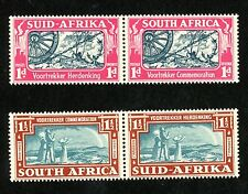 1938 South Africa Stamps #79 & 80, Mint, VF, H
