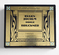 EUGEN JOCHUM Bruckner Symphonies 5 & 7 live french montaigne 2CD box NO IFPI
