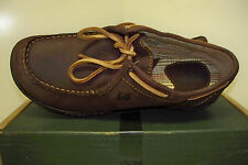 New BORN Women's Oxford Lace Up Shoes Size 6M Dark Brown Leather