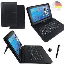 MEDION LIFETAB S10351 Deutsche Tablet Tasche Hülle - Qwertz Tastatur 10.1 zoll
