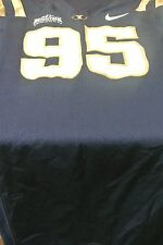 Brigham Young University Game Used Football Jersey Size 44 #95
