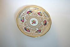 CAULDON ENGLAND HAND PAINTED & GILT PORCELAIN CABINET SAUCER TIFFANY & CO. NY