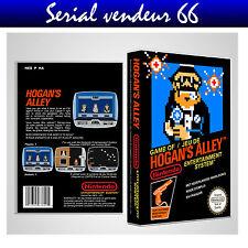 """Boitier du jeu """" HOGAN'S ALLEY """", Nintendo, Nes. FR. HD. SANS LE JEU."""