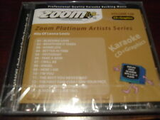 ZOOM PLATINUM KARAOKE DISC CDZMP128 HITS OF LEONA LEWIS CD+G