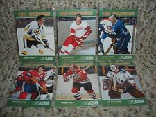 "2011-12 SCORE ""THE FRANCHISE"" 6 CARD INSERT SET...howe, hull...FREE SHIPPING"