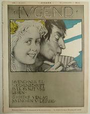 Die Jugend, Jugendstil, Zeitschriften, Art Nouveau, Die Jugend Monatsschrift,