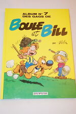 BOULE ET BILL  ALBUM DES GAGS N°7 ROBA 1988