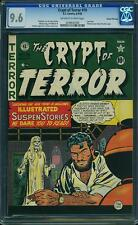 Crypt of Terror #19 (1950, EC)  CGC 9.6 NM+ Gaines File Copy
