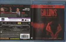 BLU RAY * GALLOWS * ASSEZ RECENT FILM SURVIVAL -HORREUR -SUSPENSE !