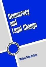 Democracy and Legal Change (Cambridge Studies in the Theory of Democra-ExLibrary