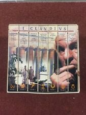 I CLAVDIVS (7) VHS BOX SET- COMPLETE SET- TAKE A LOOK AT THESE WOW- MUST SEE P4