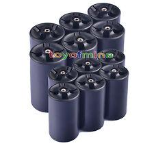 6 X AA à C Taille / D Taille Batterie adaptateur convertisseur NOUVEAU