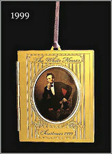 1999 - The White House Historical Christmas Ornament - Abraham Lincoln
