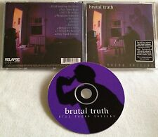 Brutal Truth - Kill Trend Suicide CD OOP RELAPSE s.o.b. exit-13 carcass entombed