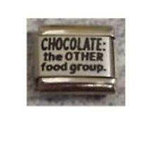 9mm Classic Tamaño Italiano encantos L31 encanto Chocolate el otro grupo de alimentos
