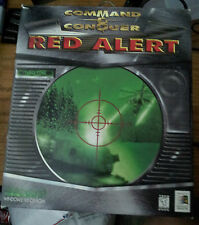 Command and Conquer Red Alert 1 BIG BOX PC Game W/ Command and conquer 1